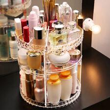 Cosmetic 360 Rotating Box Organiser Plastic Makeup Jewellery Storage Boxs