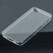 Clear Transparent Ultra Slim Soft Protector Case Cover Skin For iPhone 5 /5S New