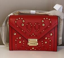 *HOT SALE* Michael Kors Whitney Large Studded Leather Convertible Shoulder Bag