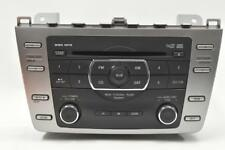 2009-2010 MAZDA 6 STEREO RADIO 6 DISC CD CHANGER MP3 WMA GS3N669RXD