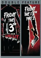Friday the 13th/Friday the 13th: Part Two NEW (DVD, 2015, 2-Disc Set)
