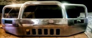 D22 Nissan Navara Front Alloy Bullbar (Polished)