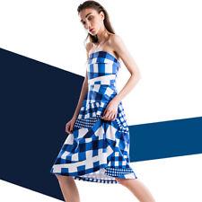 Etre Cecile Gingham Bandeau Dress, size XS, AUS 8, NWT