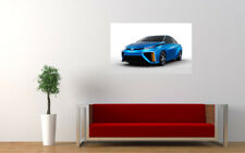 """TOYOTA FCV CONCEPT CAR PRINT WALL POSTER PICTURE 33.1""""x20.7"""""""