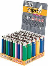 50 Accendini BIC SLIM J23 Colorati Pietrina Medi - Scatola 1  Box Sigillato