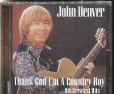 JOHN DENVER - THANK GOD I'M A COUNTRY BOY - HIS GREATEST HITS - CD