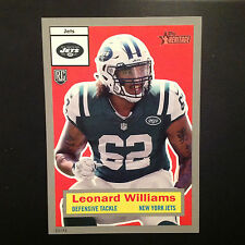 LEONARD WILLIAMS #25 JETS / USC RC #ed/49 made Silver 2015 Topps Heritage 5x7