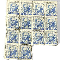 1966 USPS George Washington 5 Cent Stamps  Lot of 14 Unused New