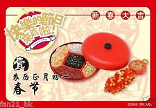 ORCARA Miniatures Chinese festival Celebration Snacks re-ment size No.01