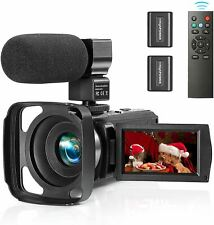 ZUODUN Camcorder Video Camera YouTube Vlogging Camera Recorder Full HD 1080P 30F