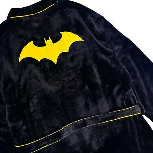 Men's Batman Dark Knight Fleecey Robe Ideal Gift Fathers Day Present