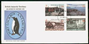 Mayfairstamps BRITISH ANTARCTIC TERRITORY FDC 2001 COVER PORT LOCKROY ANTARCTICA