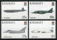 Kiribati Aviation Stamps 2008 MNH RAF Royal Air Force 90th Anniv Avro 4v Set