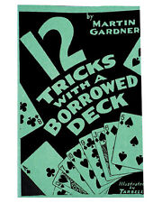 Morris Costumes Tricks With A 00004000  Borrowed Deck Magic 23 Pages Soft Bound Book. Ra22