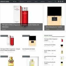 PERFUME STORE - Professionally Designed Affiliate Website For Sale + Domain!