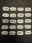 1975-1990 Chevy Caprice Glass Window Windshield Molding Trim Reveal Clips GM NOS