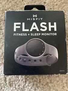 Misfit Flash Fitness and Sleep Monitor Smart Watch- ONYX / Gray Bluetooth