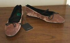 4e44126dca2 Zara Flat (0 to 1 2 in.) Velvet Shoes for Women for sale