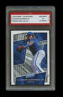 VLADIMIR GUERRERO JR. 2019 PANINI NATIONAL 1ST GRADED 10 ROOKIE CARD BLUE JAYS