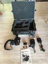 Canon EOS C100 Mark II Professional Cinema Camera - Black (Body Only) + extras