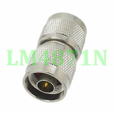 1pce Adapter N plug male to N male RF connector straight