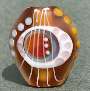 Handmade Lampwork Focal Bead ~ Sonoran Summer ~ By Soul Of Glass SRA