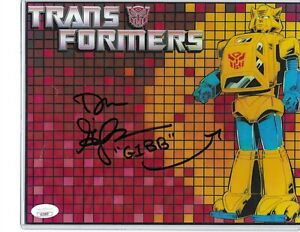 Dan Gilvezan Hand Signed in Person Autographed Transformers  Voice JSA COA Rare