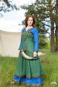"""20% DISCOUNT! Viking Apron """"Ingrid the Hearthkeeper"""" for LARP"""