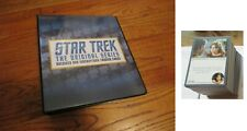 Star Trek The Original Series Archives and Inscriptions BASE SET & BINDER - TOS