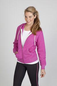 Ladies/Junior Greatness Heather Zip Hoodie FZ75UN
