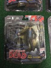 The Walking Dead Comic Book Series 1 Mcfarlane Lot Of 4 Card Misprint, Rare!!!