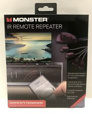 Monster IR Remote Repeater, Control A/V Components. New In Box, FREE SHIPPING.