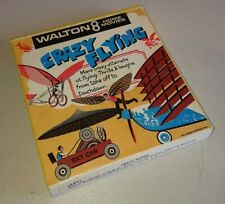 WALTON 8 HOME MOVIES * CRAZY FLYING * 8mm FILM REEL BOXED * PIECE OF HISTORY!