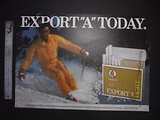 EXPORT A  TODAY LIGHT CIGARETTE  SIGN BACK LIGHT OR HANG