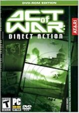 ACT OF WAR: Direct Action ATARI PC DVD-ROM Game 2005 New & Sealed