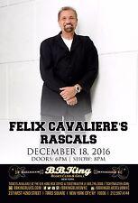 Felix Cavaliere'S Rascals 2016 New York Concert Tour Poster-Rock, Soul,Soft Rock