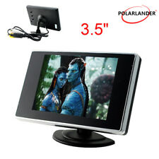 "3.5"" Car Monitor LCD TFT Color Screen 6V-35V for Backup Rear View Camera DVD VCD"