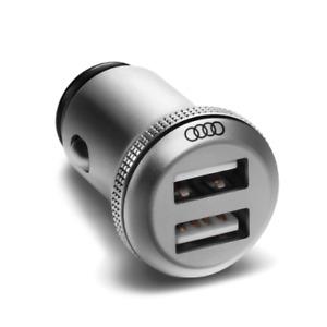 Original Audi USB-Ladeadapter dual 8X0051443