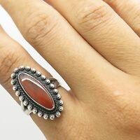 Old Pawn Bell Trading Co 925 Sterling Silver Jasper Gem Women's Ring Size 5.5 5g