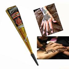 New Arrival Natural Herbal Henna Cones Temporary Tattoo Body Art Paint Paste Ink