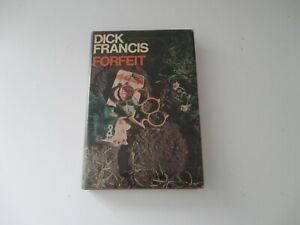 Dick Francis Forfeit 1968 First Edition