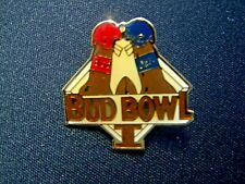 New listing Vintage Bud Bowl 1 Pin 1989 Nfl Super Bowl Xxiii Rare Collector Commemorative