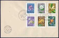 North Vietnam 1964 FDCs Flowers sets perf & IMPERF