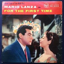 Mario Lanza FOR THE FIRST TIME LP Zsa Zsa Gabor Film Soundtrack OST Kurt Kasznar