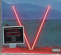 SEALED CD Maroon 5 V CD/DVD V Maps Animal Sugar BRAND NEW