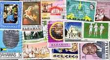 Bahamas Colecciones de 25 à 300 Sellos Diferentes