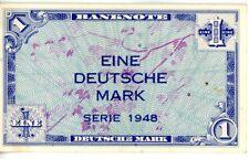 Germany Federal Republic  ... P-2a ... 1 Deutsche Mark ... 1948 ... *VF-XF*