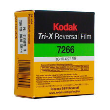 Kodak Tri-X Super 8mm Black And White Reversal Film 7266 Official Reseller