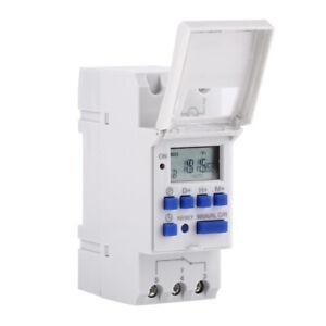 Interrupteur horaire à affichage numérique Minuterie électronique AC 220V