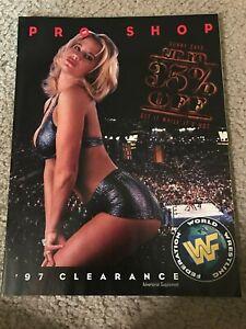 1997 WWF Merchandise Catalog Shirt Belt SUNNY UNDERTAKER SHAWN MICHAELS VADER
